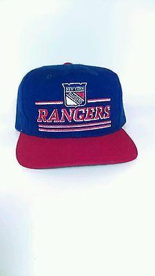 Vintage starter new york rangers snapback cap nhl 90 s Snapback Cap 64e4b014e2bf