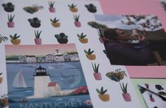 Printable Scrapbook Paper, Origami, Polaroid Film, Printables, Print Templates, Origami Paper, Origami Art