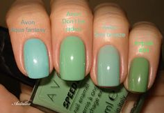 Notes on nails: Avon Don't be jaded