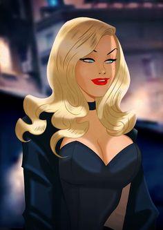 Black Canary - Art by Des Taylor Marvel Dc, Marvel Girls, Comics Girls, Marvel Comics, Comic Book Characters, Comic Character, Comic Books Art, Female Characters, Comic Art