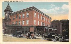 C 1925 Old Cars Portage Inn Westfield NY Old Postcard   eBay
