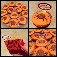 Halloween cupcakes...no tricks; just a sweet treat! ; )