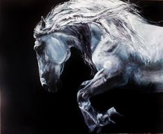 Serio by Belle S Equinistry - #horse #painting