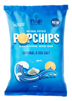 PopChips packaging design... i love the colours