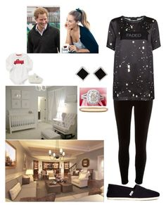 """""""Family spending day at home"""" by royal-431 ❤ liked on Polyvore featuring River Island, Alexander Wang, TOMS, De Beers, UGG Australia, Lauren Conrad and Yvel"""