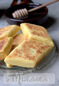 Recette Mbesses algerien au beurre / Mbesses Algerian butter bread recipe Plus