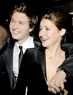 """There's something really beautiful about working with someone and working with them again and again and again, because the more you get to know somebody on a personal level, the more free you feel artistically."" - Shailene Woodley on working with Ansel Elgort"