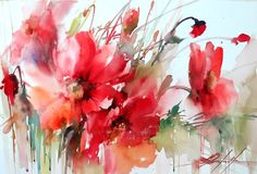 Fábio Cembranelli - A Painter's Diary: Red Flowers SY