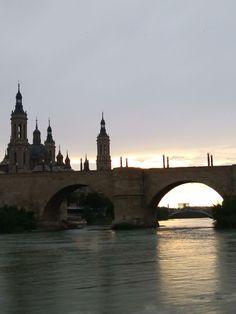 Tower Bridge, Travel, Zaragoza, Trips, Viajes, Traveling, Outdoor Travel, Tourism