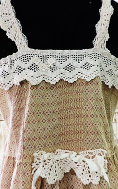 Items similar to Gypsy Summer Camisole on Etsy Magnolia Pearl, Body Adornment, Antique Lace, Vintage Inspired, Gypsy, Crochet Top, Whimsical, Camisole, Projects To Try