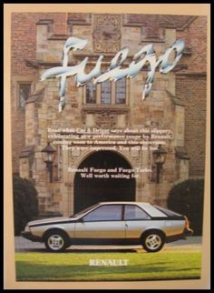 renault fuego - turbo!...Sad to say, I owned this in high school....LOVED IT!! lol