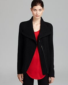 HELMUT by Helmut Lang Cardigan - Soft Zip | Bloomingdale's