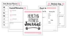 In the spirit of Christmas and a New Year approaching, I wanted to gift you  with a head start on your fitness journey!  You can download your FREE  15-page Fitness Journal Printable to get you started with planning and  tracking your meals and workouts.   Planning and writing things down usual