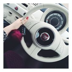 My beaut fiat 500! fiat 500 lounge, white car, fiat, how I edit instagram photos Http://www.thefashionablyfit.co.uk