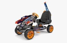 HUGE selection of Nerf Guns. Watch out fo great discounts on selected guns. We stock nerf Rebelle, Modulus, N-Strike and more. Shop @ Smyths Toys UK now! Pistola Nerf, Nerf Storage, Cool Nerf Guns, Nerf Toys, Kids Toys For Boys, Nerf Party, Go Kart, Legos, Cool Toys