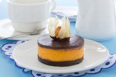 Pumpkin Cheesecake With Chocolate Jigsaw Puzzle Game - PuzzleMobi
