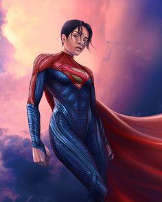 Superman Costumes, Movie Costumes, Man Of Steel, New Movies, Supergirl, Costume Design, Wonder Woman, Fan Art, Poses