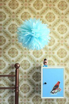 PomPom Large | Kies een kleur - Pompoms door omstebeurt - Decoratie - Woonaccessoires - DaWanda