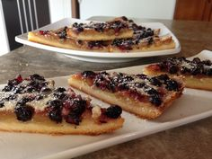 Saskatoon Berry Butter Tart Bars  I have become known for working with Saskatoon Berries (aren't we all on the Prairies?). I can't ...