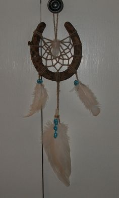 Another way to use up all those horse shoes I have.