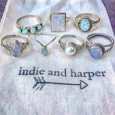 Oh these pretty little things ❤️ Available at www.indieandharper.com