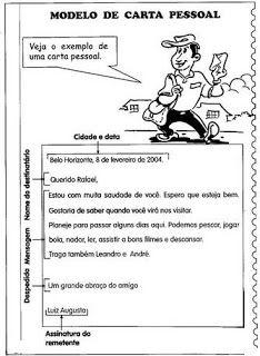 SOS PROFESSOR-ATIVIDADES: Carta