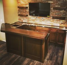 Custom Home Bars, Bars For Home, Custom Homes, Home Bar Designs, Barn