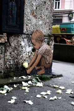 Street artist Michael Aaron Williams