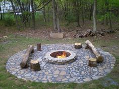 I want me a fire pit like this
