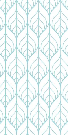 ~Stylized Leaves~  Two panel sizes available: 27 wide x 96 tall Or 24 wide x 48 tall  Or order an A4 sized sample (21cm x 29cm). Limit of 5