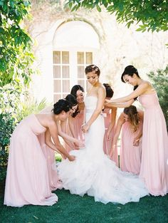Pink Elegant Palm Spring Affair Wedding | Photography: Lane Dittoe lanedittoe.com View more: http://www.fabmood.com/pink-elegant-palm-spring-affair-wedding: