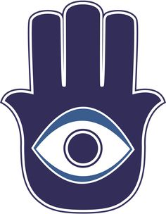 The 'Hamsa' charm made to ward off the evil eye. The 'Hamsa' charm made to ward off the evil eye. Symbole Protection, Protection Symbols, Eye Protection, Buddhism Symbols, Ancient Symbols, Third Eye Tattoos, Hand Der Fatima, Evil Eye Art, Eye Meaning