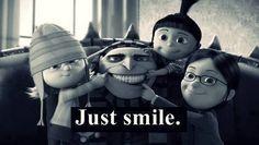 SMILE !! despicable me