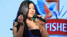 Arpita Chakraborty croons for TV show