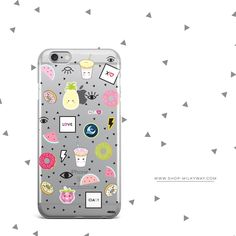 'The Patch Case' - Clear TPU Case Cover – Milkyway