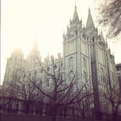 LDS temple in Salt Lake City, UT  We love Temples at: www.MormonFavorites.com  #LDS #Mormon #LDSquotes