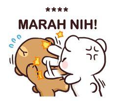 Sorry anushree pan kai khotu lagyu Cute Bunny Cartoon, Cute Cartoon Pictures, Cute Love Cartoons, Cute Bear Drawings, Cute Cartoon Drawings, Cartoon Jokes, Cute Emoji Wallpaper, Cute Disney Wallpaper, Cute Cartoon Wallpapers