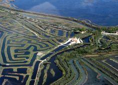 Panoramio - Photo of Casone Averto, laguna di Venezia (vista aerea)
