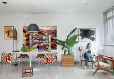 Home of Gil Fialho and Anna Lucia Azevedo Lufe Gomes / Casa e Jardim