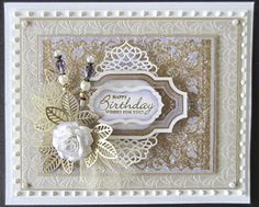 I totes love how this greeting is set back from the frame!!! PartiCraft (Participate In Craft): The amazing Sue Wilson