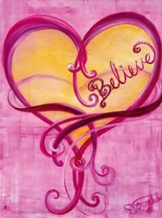 Heart painting..