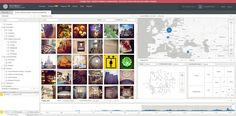 Surveillance Software Concept - Media