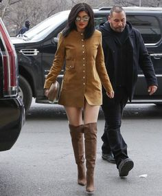 February 9, 2016 - Kylie out and about in New York, NY