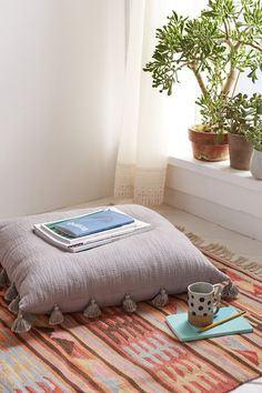 magical thinking stitched floor pillow urban outfitters home pinterest floor pillows. Black Bedroom Furniture Sets. Home Design Ideas