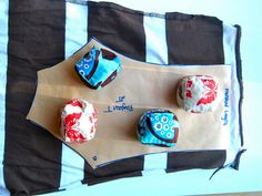 How to make pattern weights, aka sewing room bean bag toys :) #diy