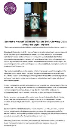 #Scentsy Fall/Winter 2013