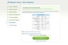 8. Start Demo Migration