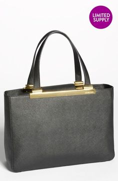 MICHAEL Michael Kors 'Tilda - Large' Saffiano Leather Tote (Online Only) available at #Nordstrom