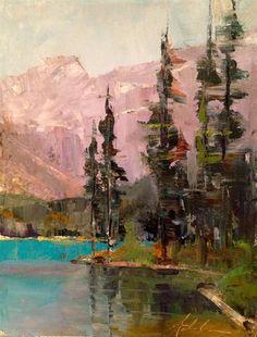 Tall Trees, Lake Louise   Ann Feldman
