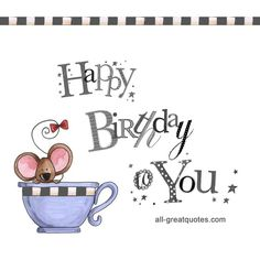 Happy Birthday To You | Free Birthday Cards For Facebook